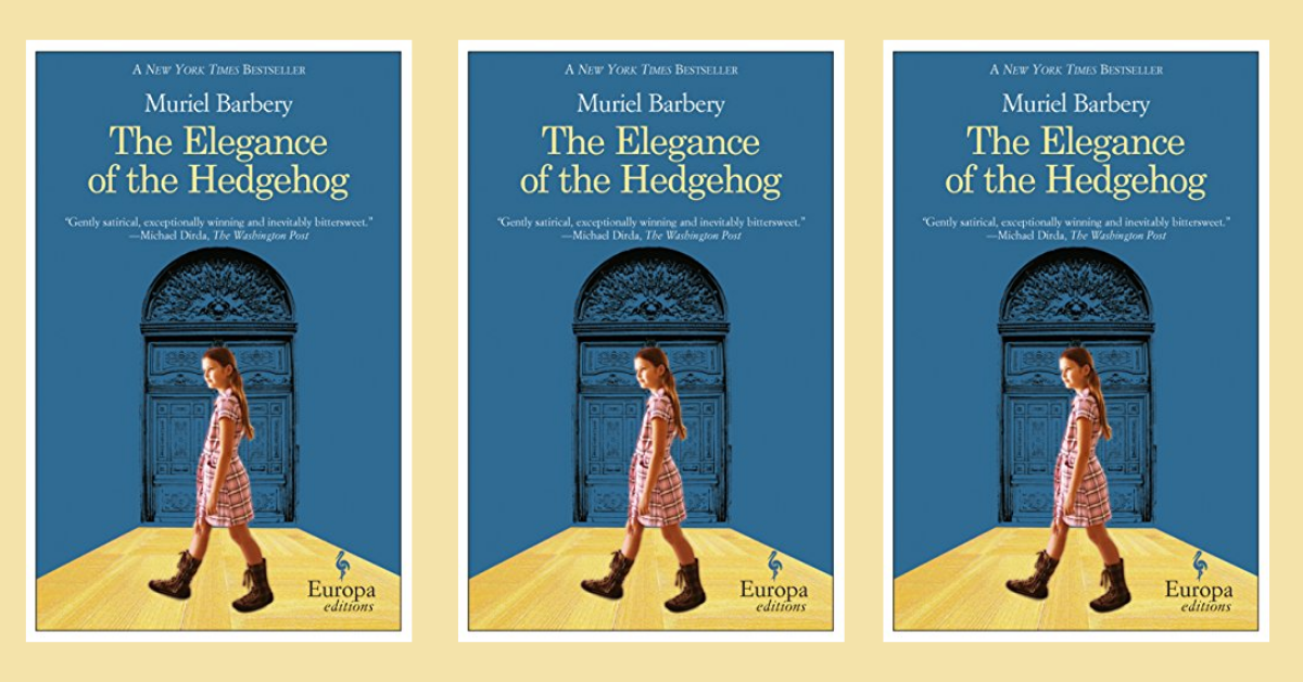 Book cover of The Elegance of the Hedgehog