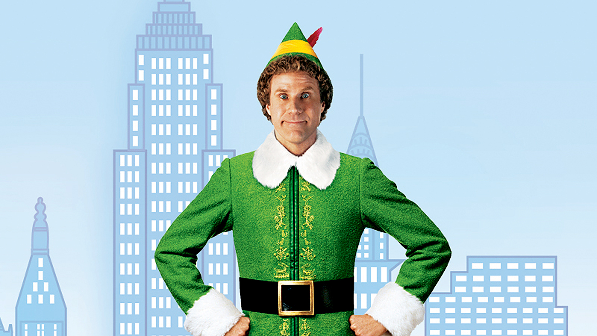 Will Ferrell in the movie Elf